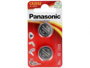 Bateria Panasonic Lithium Power CR2032 3V 1szt 225